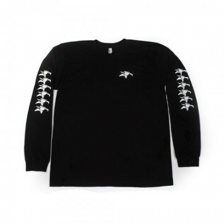 Animal Repeater Long Sleeve T-Shirt Black XL